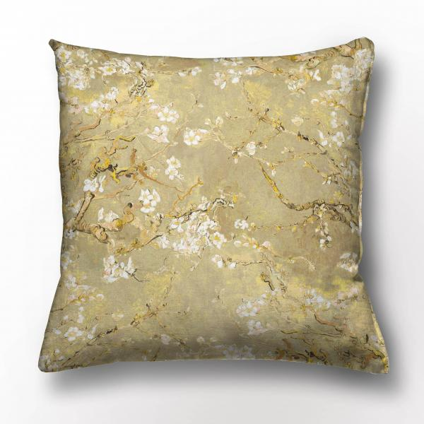 Cushion cover / Almond Blossom / Gold