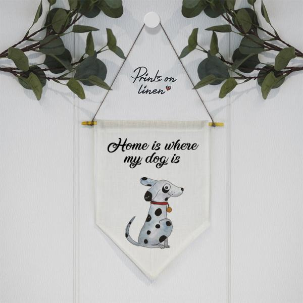 Wall banner - for dog lovers