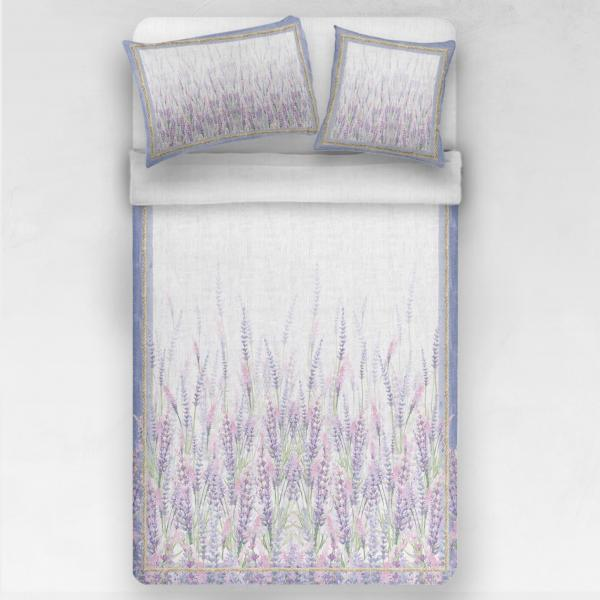 Linen bedding set / Lavenders