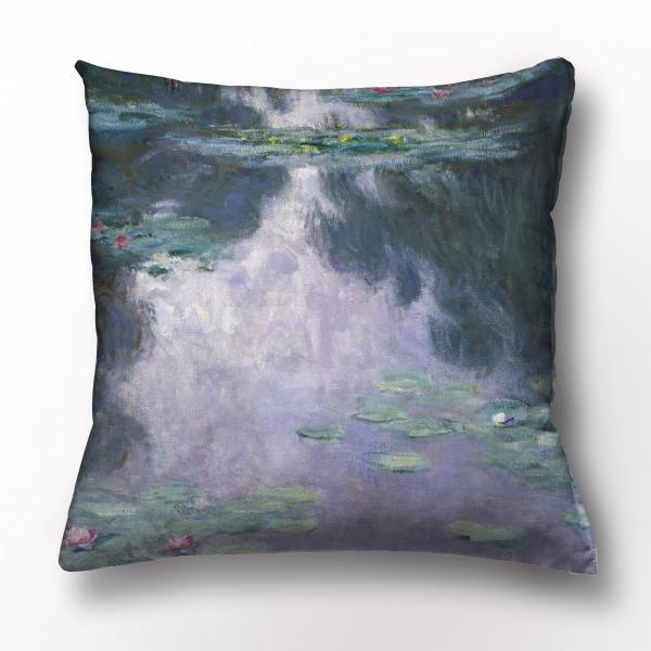 Cushion cover / Water Lilies. 1907