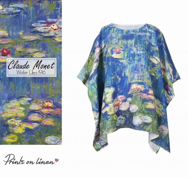 One size tunic / Water Lilies 1916