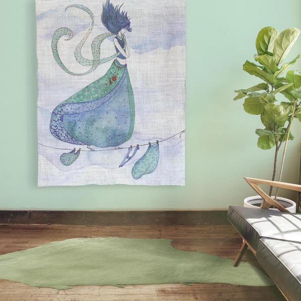 Wall tapestry / Wind