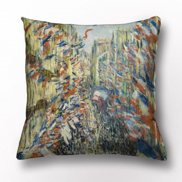 Cushion cover / Rue Montorgueil