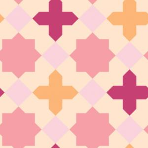 Star & Cross - Pink