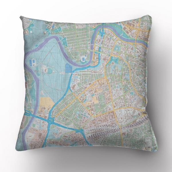 Cushion cover / map
