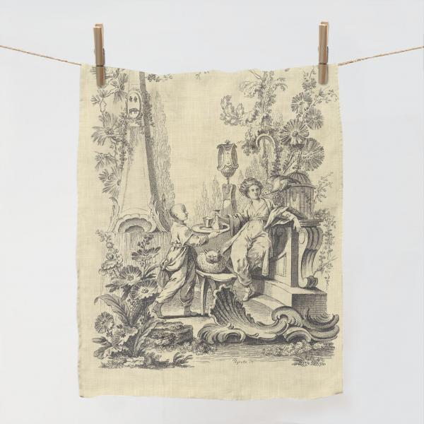 Towel / Ornaments Chinois Vintage