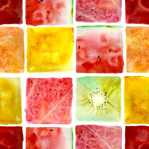 fruits mosaic