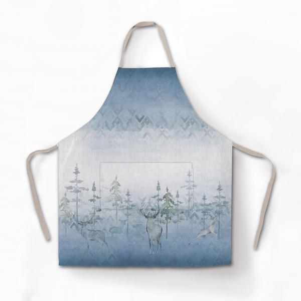 Apron / Deer in the Mist