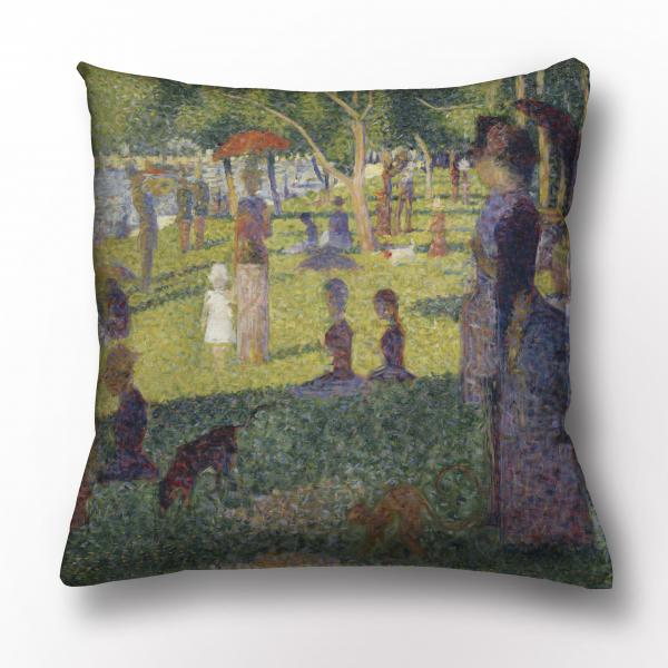 Cushion cover / Sunday Afternoon on Grande Jatte