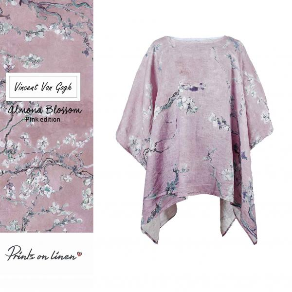 One size tunic / Pink blossoms