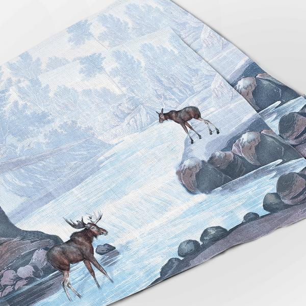Placemats set / Covered in Frost