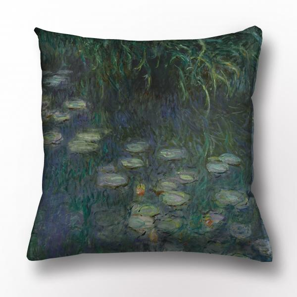 Cushion cover / The Water Lilies