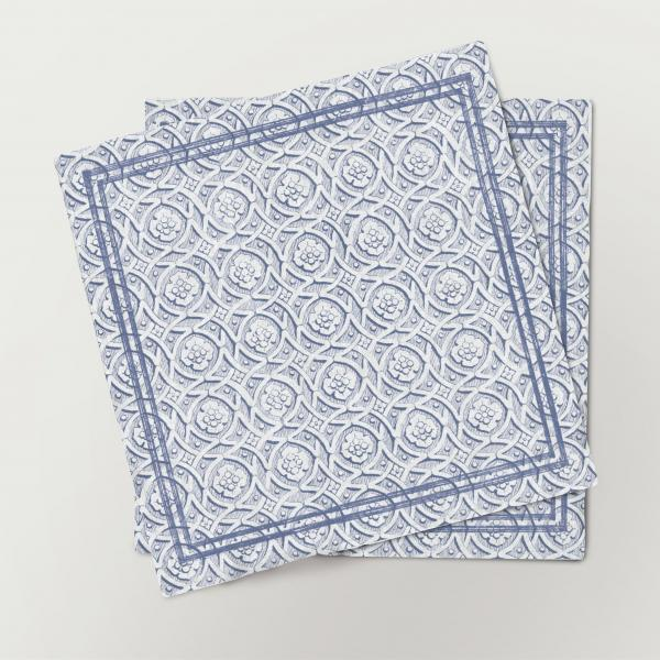 Napkins set /  Minimalistic ornaments