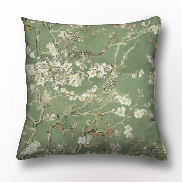 Cushion cover / Almond Blossom / Olive