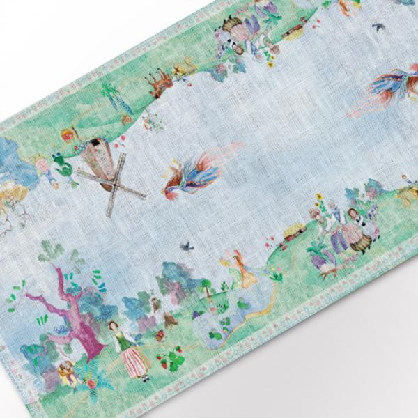 "Table runner ""Lithuanian fairy tales"""