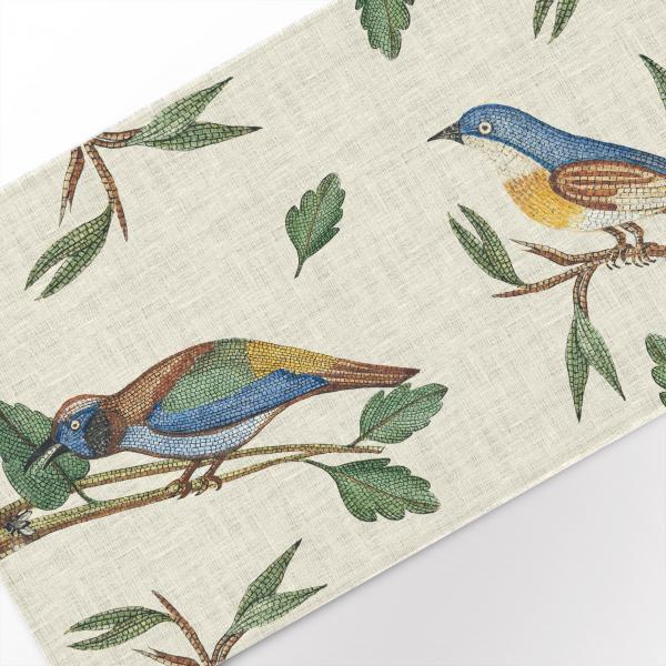 Table runner / Wollaston Birds