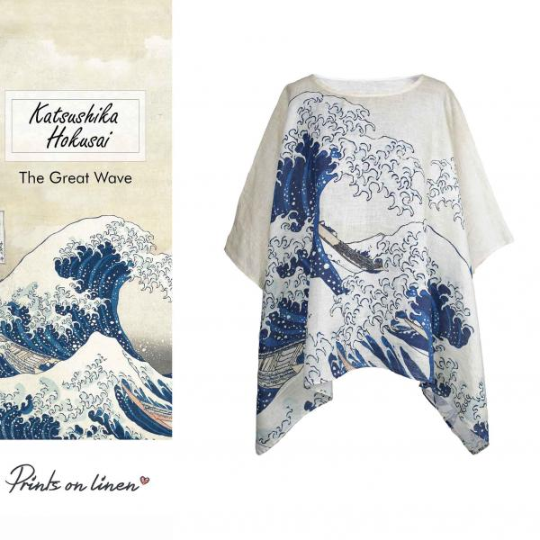One size tunic / The Great Wave