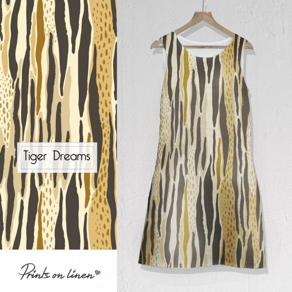 Linen dress / Tiger Dreams