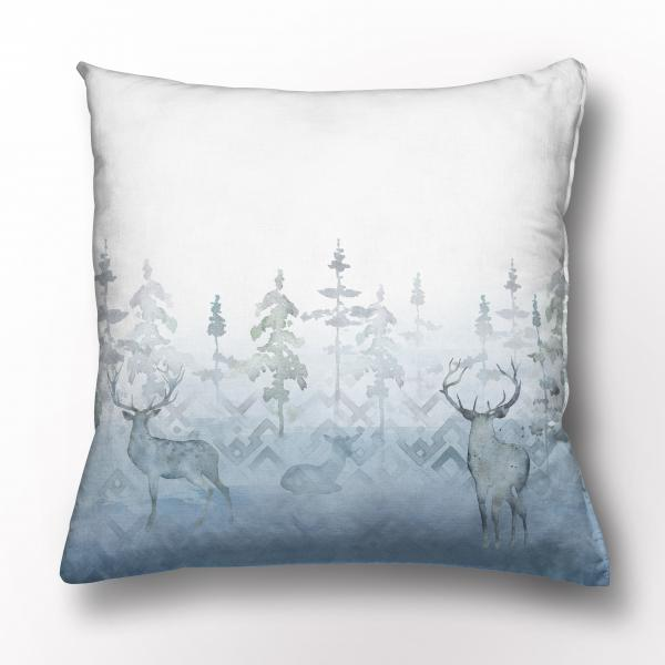 Cushion cover / Deer in the Mist