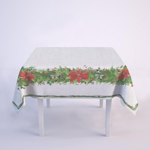 Tablecloth / Poinsettia