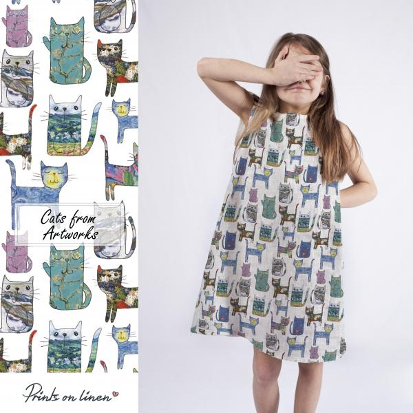 Girl dress  / Cats from Artworks