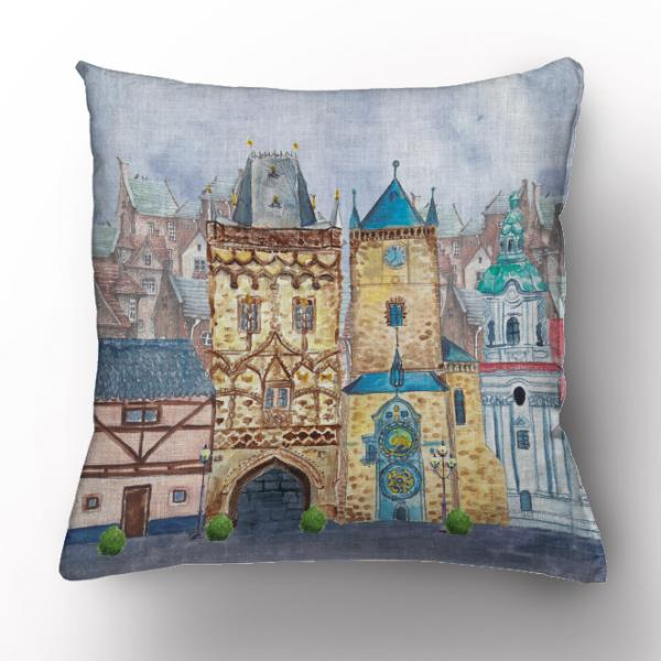 Cushion cover / Prague city