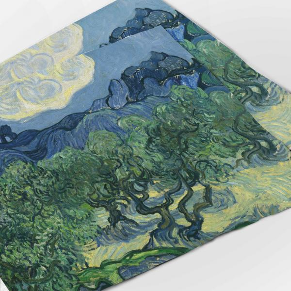 Placemats set / Olive Trees