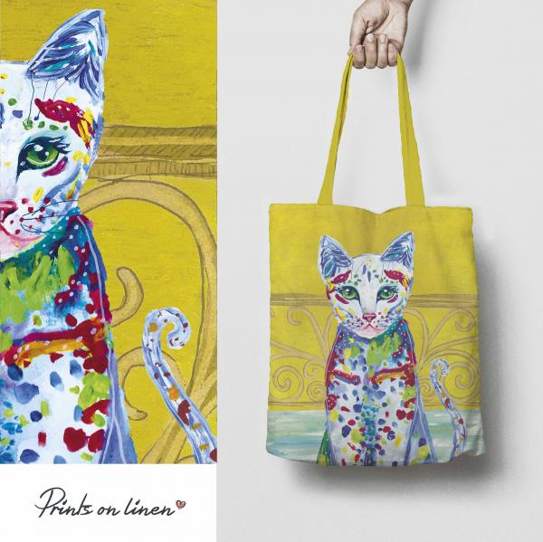 Tote bag / The story of cat II