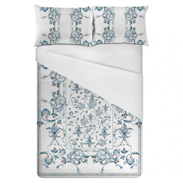 Linen bedding set / Art Deco