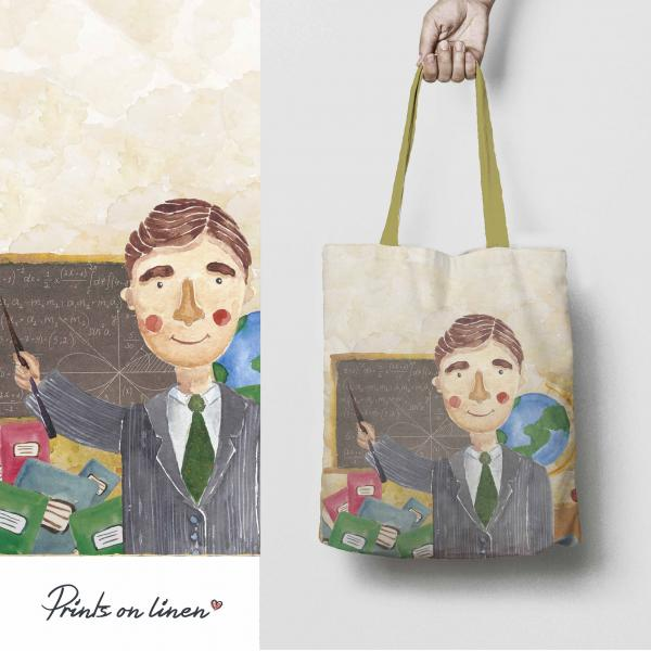 Tote bag / Teacher man