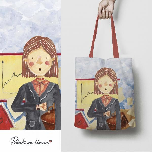 Tote bag / Manager woman