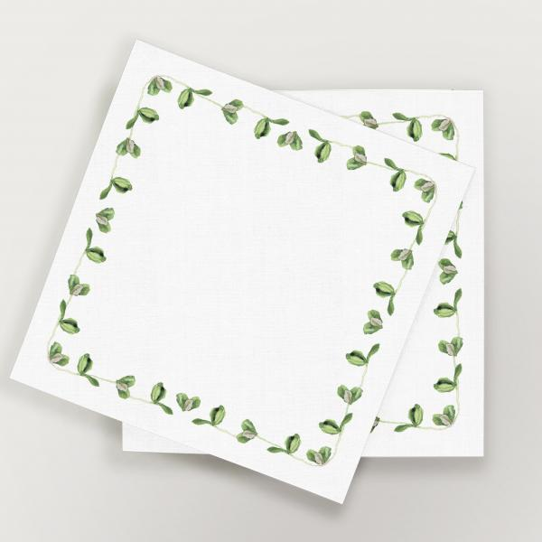 Napkins 32x32 cm (6 units set) clovers