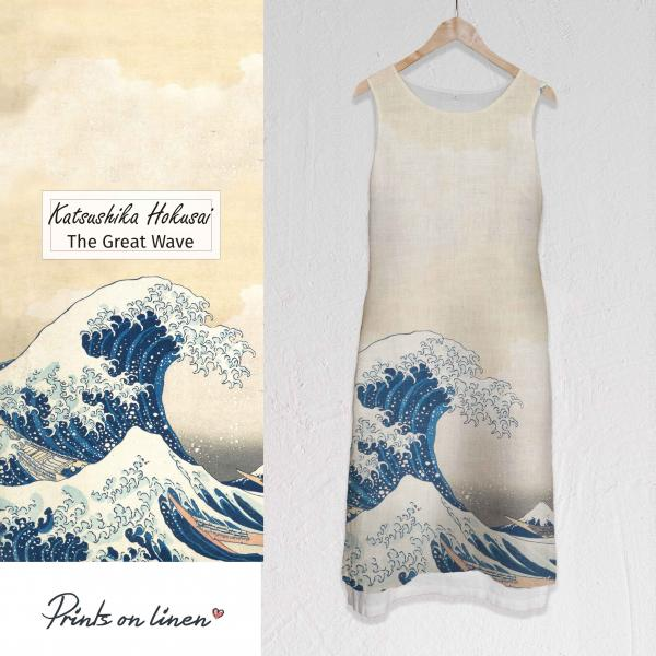 Long dress / The Great Wave