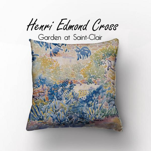 Cushion cover / Henri Edmond Cross