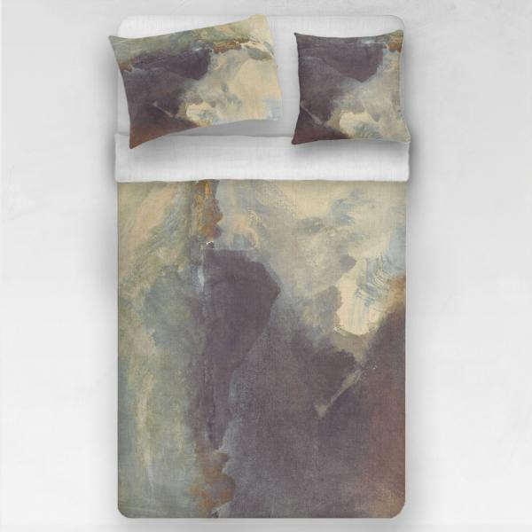Linen bedding set / The Mewstone