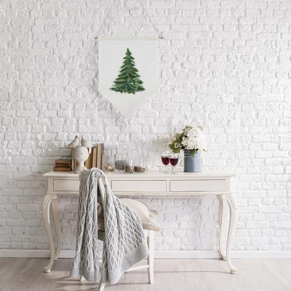 Wall banner - Christmas tree