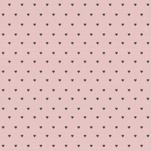 heart pattern on pink background