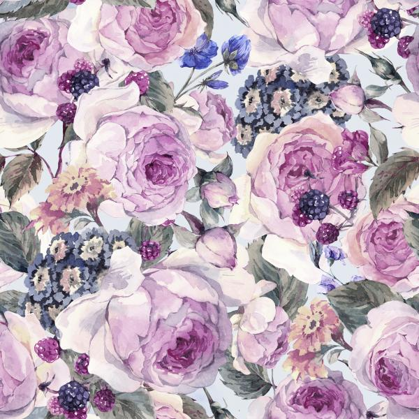 Classical vintage floral pattern
