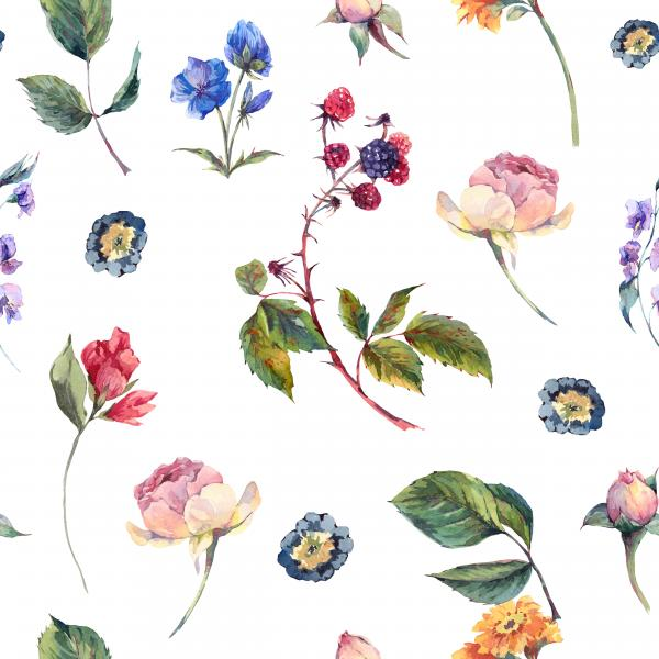 Wintage roses pattern