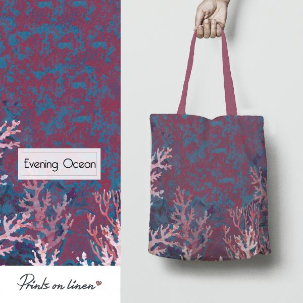 Table bag / Evening Ocean