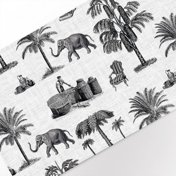 Table runner / Safari toile