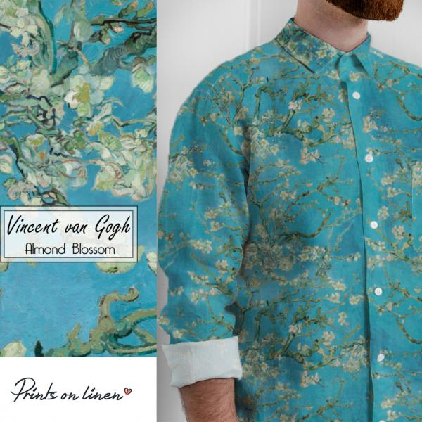Men Shirt / Almond Blossom