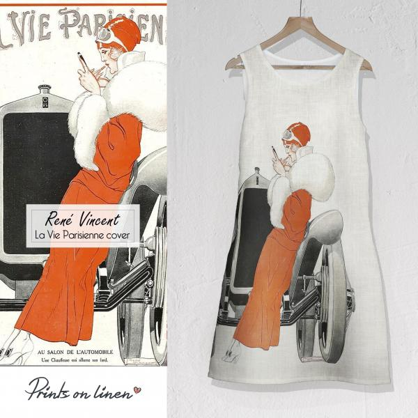 Linen dress / La Vie Parisienne