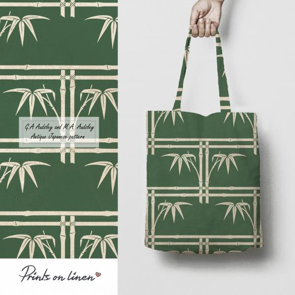 Tote bag / Antique Japanese pattern