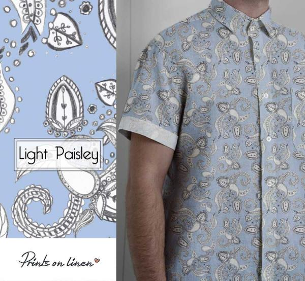 Shirt / Light Paisley