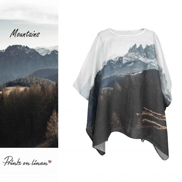 One size tunic / Mountains