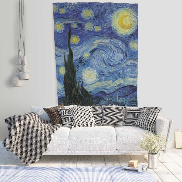 Wall tapestry / Starry Night