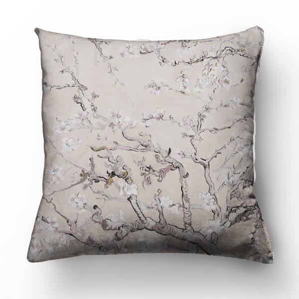"""Cushion cover """"Almond blossom""""/ nude"""
