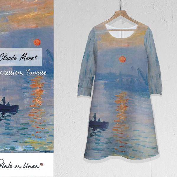 Linen dress / Impression, Sunrise