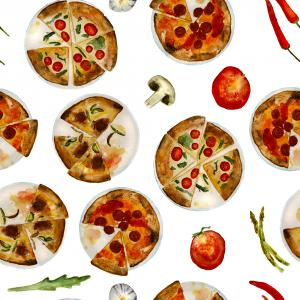 Italian pizza pattern